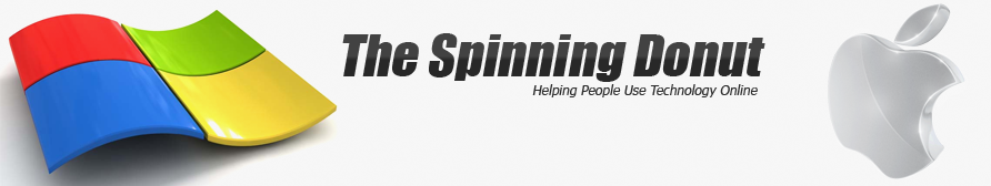 The Spinning Donut - Helping People Use Technology Online