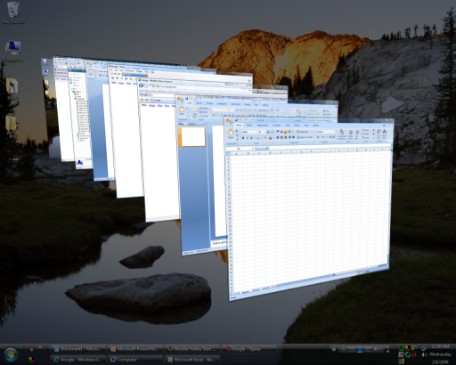 Vista Flip 3D Task Switcher