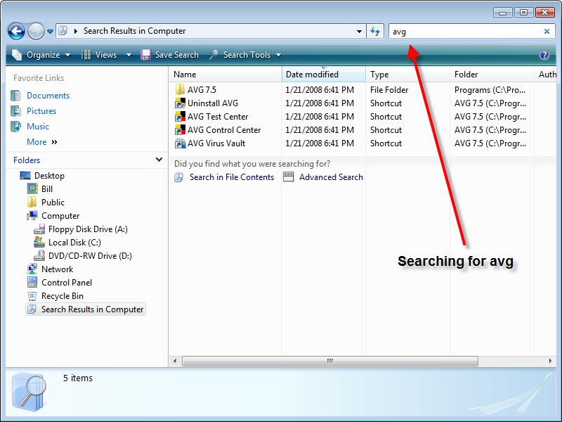 An Introduction To Windows Vista Explorer